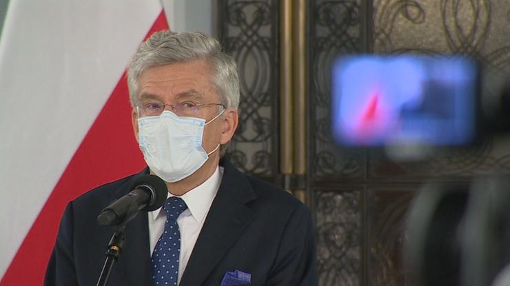 Stanisław Karczewski: zakaziłem się od pacjentki