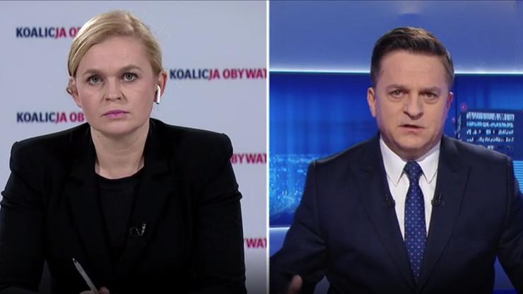 Nowacka: policjant uważał, że może psiknąć gazem w osobę niższą o pół głowy?