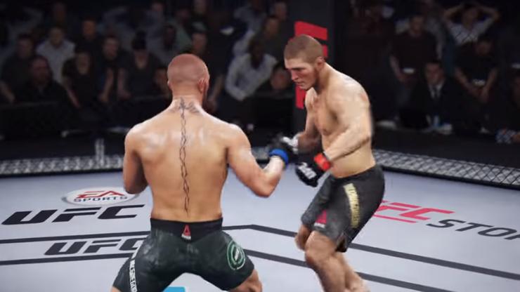 UFC 229: Symulacja walki Khabib vs McGregor. Kto wygrał?