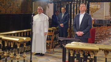 """Prezydent modlił się na Jasnej Górze. """"Za Ojczyznę i rodaków"""""""