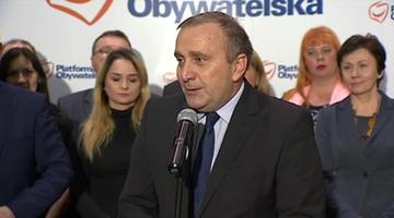 """Schetyna oficjalnym kandydatem na szefa PO. """"Chcę wrócić do korzeni"""""""