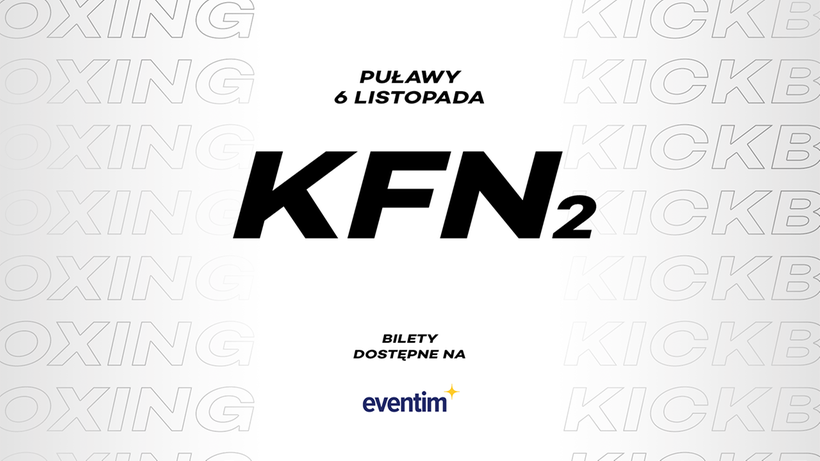 KFN 2: Znamy szczegóły gali