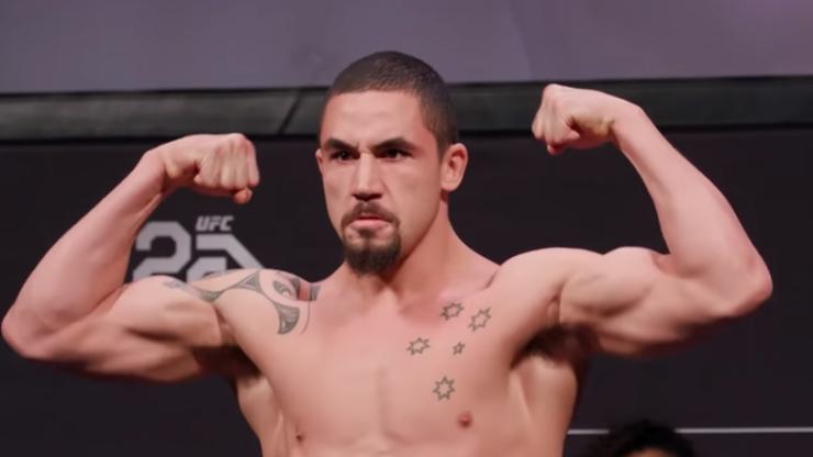 UFC 234: Whittaker mógł stracić część jelita