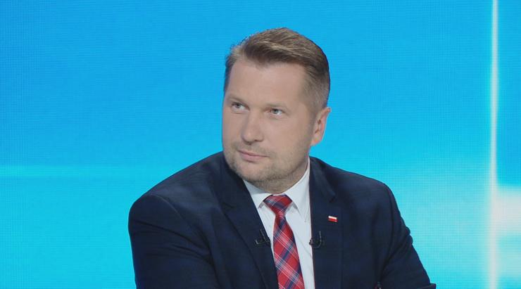 Minister edukacji i nauki Przemysław Czarnek: 1 września uczniowie wrócą do szkół