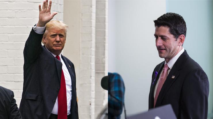 """""""Jesteśmy w trakcie siania ziaren zjednoczenia"""". Trump spotkał się z przewodniczącym Izby Reprezentantów"""