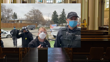 """Polski duchowny wyrzucił z kościoła policję. """"Gestapo znowu atakuje"""""""