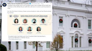 Biden ogłosił skład zespołu prasowego Białego Domu. Historyczna decyzja
