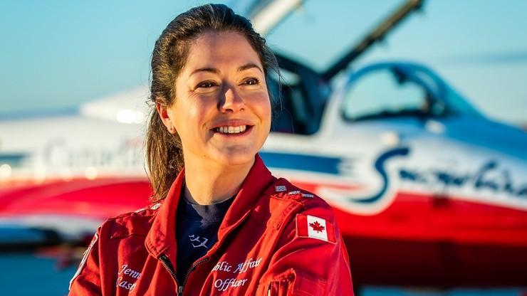 Katastrofa odrzutowca w Kanadzie. Zginęła rzeczniczka Królewskich Sił Lotniczych
