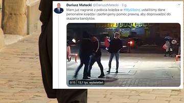 Ksiądz zaatakowany podczas manifestacji [WIDEO]