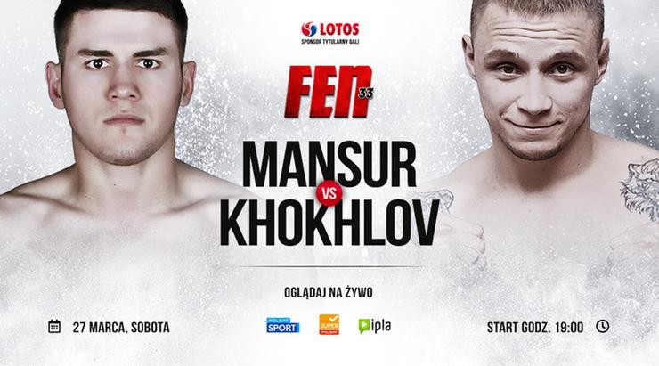 Khokhlov rywalem Abdurzakova podczas FEN 33: LOTOS Fight Night