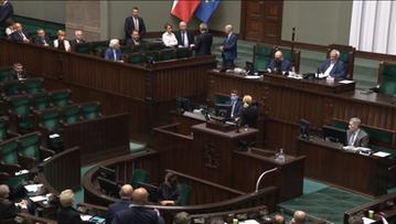 """Awantura w Sejmie. Kaczyński nazwał opozycję """"chamską hołotą"""""""