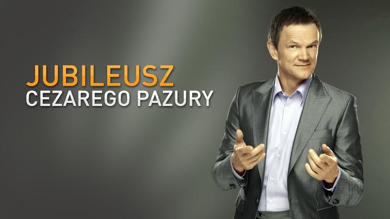 Jubileusz Cezarego Pazury