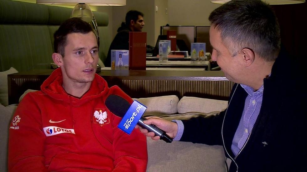 Kulisy sportu - wywiady Romana Kołtonia: Krzysztof Mączyński