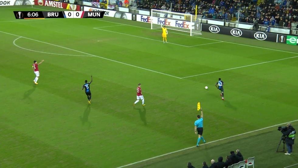 Club Brugge - Manchester United