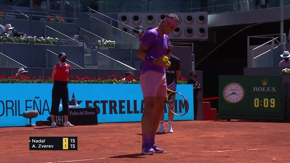 Rafael Nadal - Alexander Zverev